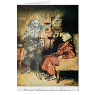 MarleyのScroogeそして幽霊 グリーティングカード