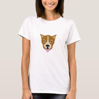 Marley幸せな犬の女性のTシャツ Tシャツ