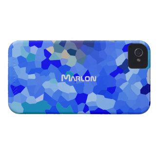Marlonのための薄青い調子のiPhone 4カバー Case-Mate iPhone 4 ケース