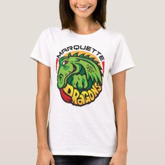 Marquetteのドラゴン(w/Logo) Tシャツ
