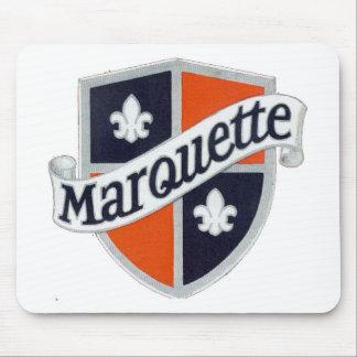 marquetteのロゴのmousepad マウスパッド