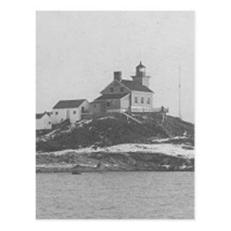 Marquette港の灯台2 ポストカード