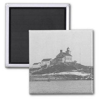 Marquette港の灯台2 マグネット