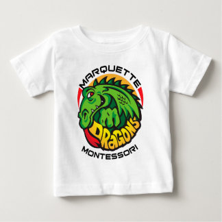 Marquette Montessoriのドラゴン ベビーTシャツ