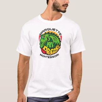 Marquette Montessoriのドラゴン Tシャツ
