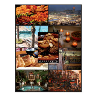 Marrakech - Maroc - Carte postale ポストカード