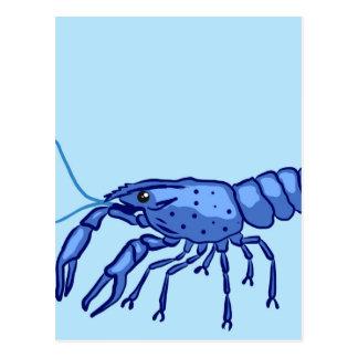 Marronの青いスケッチ ポストカード