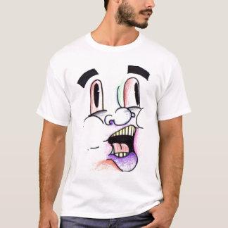 Martyの虹の顔のTシャツ Tシャツ