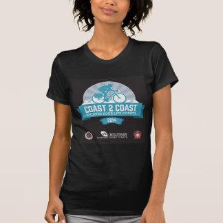 MartyのCoast2Coastの乗車2014年のための記念品のワイシャツ Tシャツ