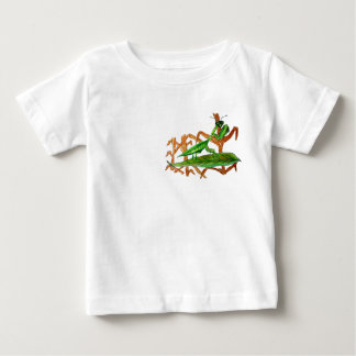 Marty祈るカマキリ ベビーTシャツ