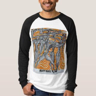 martymackart 090のMarty Mackの#Love Tシャツ