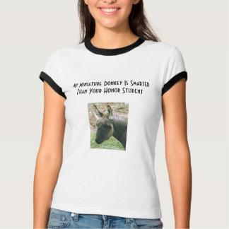 marydonkeyは、私のミニチュアろばあります… -カスタマイズ tシャツ
