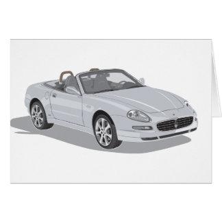 Maserati Spyder カード