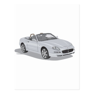Maserati Spyder ポストカード