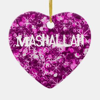 Mashallahのイスラム教のお祝いのオーナメント セラミックオーナメント
