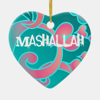 Mashallahのイスラム教のオーナメント セラミックオーナメント