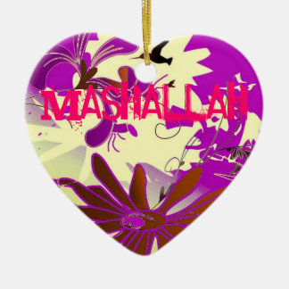 Mashallahのイスラム教の装飾的な芸術のオーナメント セラミックオーナメント