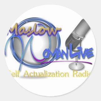 Maslowの女性Live1 ラウンドシール