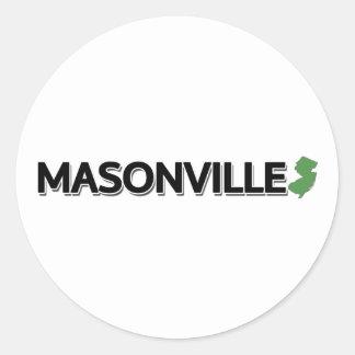 Masonville、ニュージャージー ラウンドシール