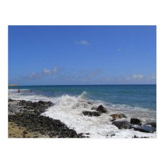 Maspalomasの海岸 ポストカード