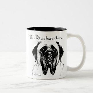 Mastiff134 ツートーンマグカップ