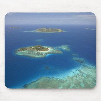 Matamanoaの島および珊瑚礁のMamanucaの島 マウスパッド