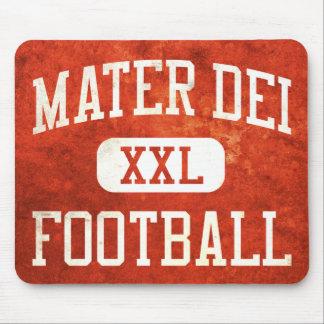 Mater Deiの(昆虫)オオカバマダラ、モナークのフットボール マウスパッド
