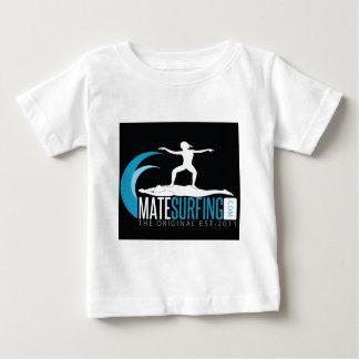 MateSurfingの範囲 ベビーTシャツ