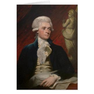 Matherブラウン(1786年)著トーマス・ジェファーソン カード