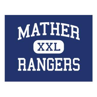 Mather -レーンジャー-高等学校-シカゴイリノイ ポストカード