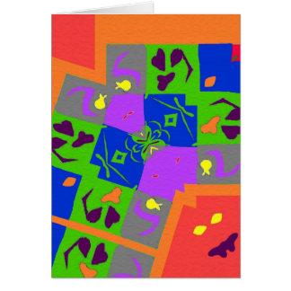 Matisseのスタイルの形 カード