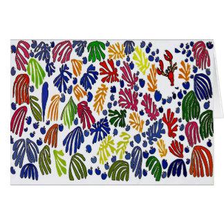 MatisseのスタイルのCrawfish カード