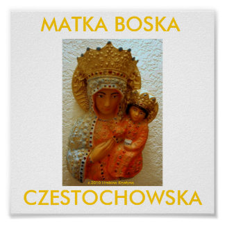 MATKA BOSKA CZESTOCHOWSKA プリント