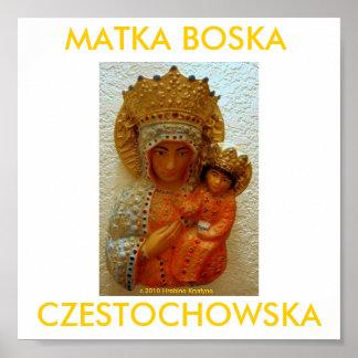 MATKA BOSKA CZESTOCHOWSKA ポスター