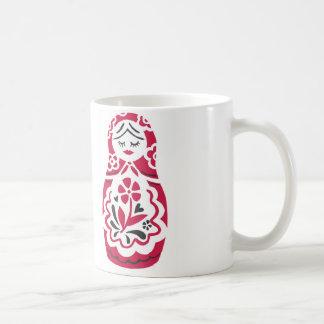 matryoshkaのマグ コーヒーマグカップ