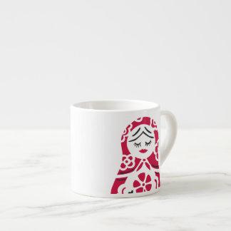 matryoshkaの小型マグ エスプレッソカップ