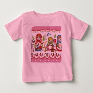 Matryoshka ベビーTシャツ