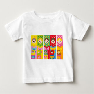 MatryoshkaBookmark ベビーTシャツ