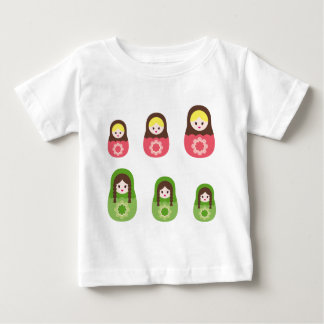 MatryoshkaNew7 ベビーTシャツ