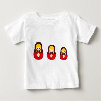 MatryoshlaXmas3 ベビーTシャツ