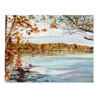 Mattaponiの川 ポストカード