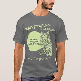 Matthewのフクロウ牧場 Tシャツ