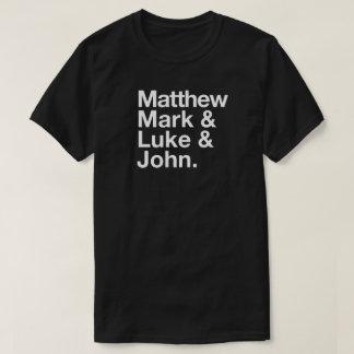Matthewの印のルークジョンの印刷のTシャツ Tシャツ