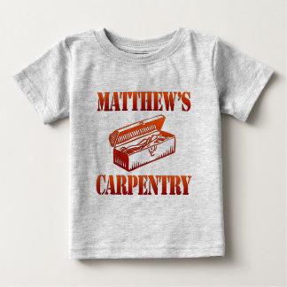 Matthewの大工仕事 ベビーTシャツ