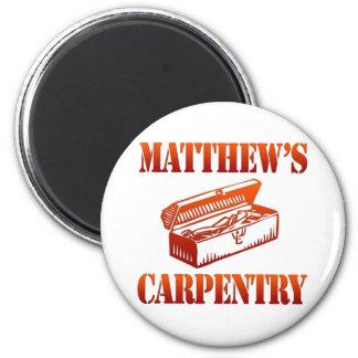 Matthewの大工仕事 マグネット