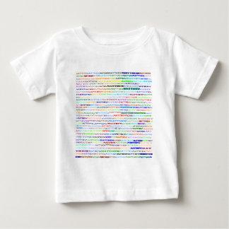 Matthewの文字デザインなIIワイシャツの乳児 ベビーTシャツ