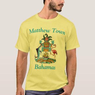 Matthewの町、紋章付き外衣が付いているバハマ Tシャツ