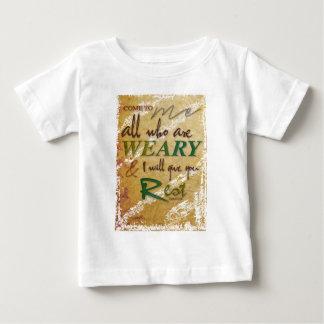 Matthewの11:28 ベビーTシャツ