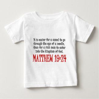 Matthewの19:24 ベビーTシャツ