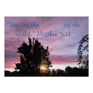 Matthewの5:14 ポスター